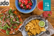 Head to Coogee Hotspot, Oceans Dining & Drinks for a Pizza, Side & Salad to Share, Plus Cocktails for 2! Think Prawn & Chorizo Pizza, Margaritas & More