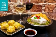 Share the Good Vibes w/ Up to 7 Friends w/ $60 to Spend on Yummy Dumplings & Drinks at Happy D's, Redfern! Peking Duck Pancake, Pork Soup Dumpling & More