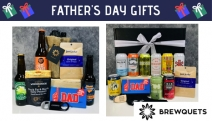 Treat Your Beer Loving Dad to a Range of Brewquets Father's Day Gifts! Hampers Filled with Goodness Incl. Oz Craft Beers, Snacks, Bottle Openers & More