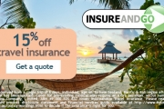 Travel Stress-Free w/ 15% Off Competitive Travel Insurance w/ InsureandGo! Policies Start from $23*. Get in Quick, Offer Ends 19 November. T&C's Apply