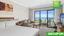 PORT MACQUARIE Up to 3-Night Beachfront Stay for 2 at ibis Styles Port Macquarie! Standard Queen Room w/ Bottle of Wine on Arrival & Late Check-Out