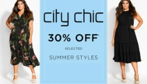 Embrace Your Curves w/ Playful & Fab Summer Styles w/ the City Chic 30% Off Summer Edit! Shop a Range of Stylish Tops, Maxi Dresses, Jumpsuits & More