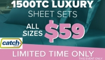 For a Limited Time Only, Grab 1500TC Sheets Sets All Sizes $59! Shop a Wide Range of Palettes for Queen & King Sizes! Emerald, Onyx & More. Plus P&H
