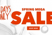 Time for a Spring Refresh w/ the Spring Mega Sale! Shop the Huge Range of Men's & Women's Clothing, Accessories, Shoes & More. Hurry, 4 Days Only!