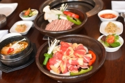 Enjoy a Flavourful Meal w/ a 2-Course Korean Meal w/ Wine for Up to 6 Ppl at Shilla Korean! Think Soy Chicken, Kimchi Pancakes & More
