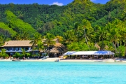 COOK ISLANDS 7 Days for 2 in a Garden Suite at the Award Winning Pacific Resort Rarotonga! Glass Bottom Boat Lagoon Cruise, Resort Activities & More