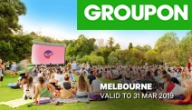 Enjoy a Romantic Night Out w/ a Moonlight Cinema Experience at Beautiful Melbourne Gardens! Catch New Releases, Advance Screenings & All Time Favourites