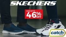 Step Out in Comfort w/ Up to 46% Off Skechers Footwear! Fresh Styles Incl. GOwalk 4 Slip-On, Skybound Sneaker, On-The-Go 600-Brilliancy Sandal & More