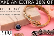 Treat Yourself to the Finer Things in Life with an Extra 30% Off Mestige Jewels Ft. Swarovski® Crystals! Pearl Earrings, Crystal Bangles & More