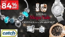 Add Sparkle & Glamour to Your Outfit w/ this Jewellery Exclusives Sale Ft. Crystals From Swarovski®! Shop Up to 84% Off Earrings, Charms & More