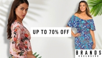 Make the Most of the Last Month of Summer w/ this Range of Women's Apparel Ft. Chic Summer Prints! Enjoy Up to 70% Off Tops, Kimonos, Dresses & More
