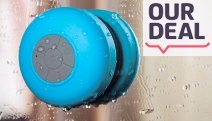 Take Your Singing in the Shower to the Next Level w/ a Bluetooth Bathroom Speaker! Wireless & Waterproof Design for Easy Portability