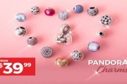 Charm Her this Christmas with the Stunning Gift of a New Pandora Charm! Ft. Star Signs, Essence Collection, Pavé Ball Charms & More from $39.99