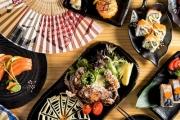 Transport Your Tastebuds to Tokyo w/ a Japanese Dining Experience w/ Sake at Katana Sushi Train! Think Miso Soup, Edamame, Salmon Nigiri & More