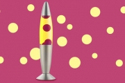 Get into the Early 2000's Groove and Set a Funky Mood in Any Room with a Retro Lava Lamp! Come in a Number of Bold Colours & Unique Shapes