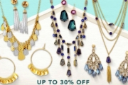 Stand Out from the Crowd with this Collection from Catherine Malandrino Jewellery! Get Up to 30% Off Bracelets, Necklaces, Drop Earrings & More