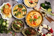 Treat Your Special Someone to a Flavourful 6-Dish Thai Banquet for 2 @ Chalita's Kitchen, Niddrie! Think Beef Massaman Curry & Pad Thai Prawns + More