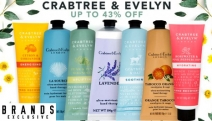 Show-Off Silky Smooth Skin w/ these Luscious Crabtree & Evelyn Hand Creams! Shop Delicious Fragrances Rosewater & Pink, Pear & Pink Magnolia + More