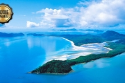 WHISTUNDAYS Discover the Breathtaking Great Barrier Reef w/ 5 Days for Up to 8 People Onboard a Luxury Bareboat Sailing Catamaran! Upgrade for Longer