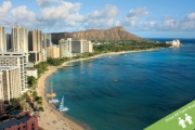 HAWAII w/ FLIGHTS 5 Nights Getaway @ Ambassador Hotel Waikiki! Stay in a City View Room Close to the Famous Waikiki Beach & Other Attractions