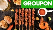Head to Haymarket & Tuck into Yummy Chinese BBQ at Skewers Go! Grab $20 to Spend on Food for One - Think Chilli Chicken Skewers, Grilled Prawn & More