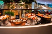 Treat Yourself & Someone Special to an Award-Winning All-You-Can-Eat Seafood Buffet at Feast Restaurant in 5* Sheraton on the Park! Upgrade for 4-Ppl