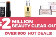 Stock Up On Your Fave Beauty Products w/ the $2 Million Beauty Clearout! Shop Skincare & Makeup Incl. Nars, Clinique, Clarins, Maybelline & More