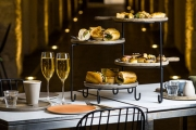 Raise Your Glass for a French-Inspired High Tea or High Coffee w/ Sparkling at Jardin St James! Located in the Crypt of Sydney's Oldest Church