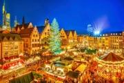 EUROPE Fairytale Festive Season w/ a Magical 8D Christmas Market Tour of Germany, Austria, Switzerland & France! Premium Accom, Scenic Cruise & More