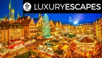 EUROPE Fairytale Festive Season w/ a Magical 8D Christmas Market Tour of Germany, Austria, Switzerland & France! Premium Accom, Scenic Cruise & More