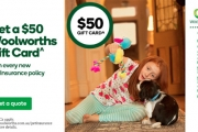 Australia's Cheapest Pet Insurance! If You find a Lower Comparable Quote, We'll Beat It*. Plus, Get a $50 Gift Card with Every New Policy^