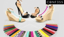 Ladies Enjoy an Infinite Amount of Footwear Styles w/ ConF3SS, Interchangeable Shoes w/ 1000's of Looks in 1-Pair! Enjoy 20% Off w/ Code: CONF3SS20