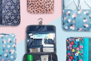 Stay Organised On the Go w/ this Range of Foldable Cosmetics Bags, Shoe Bags, Electronics Organisers & More! Perfect for Fitting in Your Suitcase