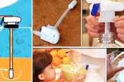 Let Your Kids Get Their Own Drinks without the Mess with a Magic Tap Drink Dispenser! Feat. One Touch Pour, Perfect for Heavy Bottles