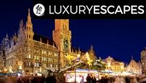 GERMANY & AUSTRIA Be Enchanted w/ a Christmas Market Tour! 7 Days of Winter Wonderland in Munich, Nuremberg, Salzburg & Vienna. Incl. Brekkie & More