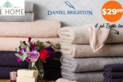 Give Your Bathroom a Makeover w/ Daniel Brighton Zero Twist Towel Value Packs! Super Absorbent Towels Made w/ High Quality Cotton. Hand Towels & More