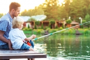 Go Fish! Full Day Fishing & Wildlife Encounter for Four at EcoPark Leisure Park! Incl. Fishing Gear, Paddle Boat Hire Plus Feed the Animals & More