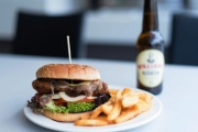 Bite Into a Mouthwatering Gourmet Burger with Chips and Beer at Restaurant 1903 Perth in Northbridge! Upgrade to Enjoy Meal with Two or Four Friends