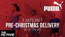 Hit the Ground Running with the Puma Footwear & Apparel Sale for Men & Women! Shop Runners, Tights, Tops, Caps, Hoodies, Shorts & More