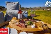 Everything Happens for a Reisling! Enjoy a Seasonal Produce Platter & Glass of Wine at Jacob's Creek in the Beautiful Barossa! + Take a Bottle Home