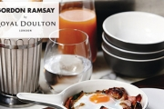 Dine in Style w/ this Collection of Stunning Dinnerware from Gordon Ramsay & Barber & Osgerby By Royal Doulton! Find Bakeware, Mugs, Cutlery & More