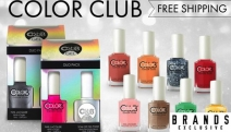 Infuse Some Colour into Your Day w/ Long-Lasting Color Club Nail Polish! Variety of Shades & Finishes Incl. Glitter, Matte & Neon! Free Delivery