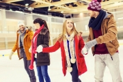 Get Out on the Ice at the Brand-New Skating Rink in Alexandria, Ice Zoo! 1½-Hr Skating Session, Live DJ on Sat Nights, Incl. Skate Hire