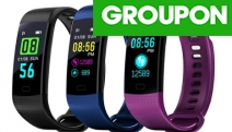 Track Your Fitness Journey w/ Colour Screen Waterproof Fitness Tracker! Heart Rate & BP Monitor, Tracks All-Day Activity Data, Monitors Sleep & More