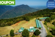 DORRIGO Soak Up Picturesque Mountains, Valley & Ocean Views with Up to 3-Nights at Lookout Mountain Retreat! Bottle of Wine, Late Checkout & More