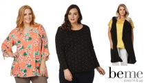 Style It Up on a Budget w/ the Nothing Over $20 Clearance Sale at Beme! Vibrant Blouses, Elegant Dresses, Layering Essentials & More for Size 14 & Up