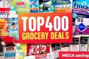 Avoid the Dreadful Weekly Grocery Shop w/ this Top 400 Grocery Deals Sale! Shop Biscuits, Soap, Shampoo, Tinned Food, Snacks & Much More