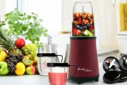 Create Healthy, Delicious Smoothies in a Flash w/ a Nutra Power Multi-Function High Power Blender! Plus P&H. Incl. Extractor Blade & Milling Blade