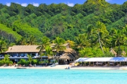 COOK ISLANDS 6-Night Tropical Escape for 2 @ Award-Winning Pacific Resort Rarotonga! Incl. Brekky & Dinner, Glass Bottom Boat Lagoon Cruise & More