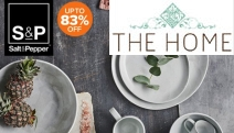Host Your Next Dinner Party in Style with the Salt & Pepper Kitchen + Dining Essentials! Ft. Up to 83% Off Dinner Sets, Teacups & Saucers + More